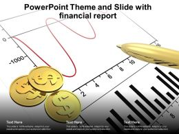 Powerpoint Theme And Slide With Financial Report Ppt Powerpoint