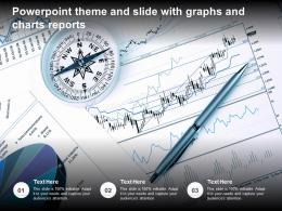 Powerpoint Theme And Slide With Graphs And Charts Reports