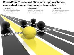 Powerpoint Theme And Slide With High Resolution Conceptual Competition Success Leadership