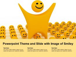 Powerpoint Theme And Slide With Image Of Smiley