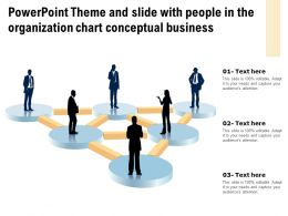 Powerpoint Theme And Slide With People In The Organization Chart Conceptual Business
