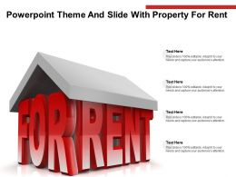 Powerpoint Theme And Slide With Property For Rent Ppt Powerpoint