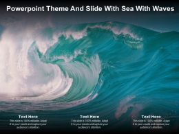 Powerpoint Theme And Slide With Sea With Waves Ppt Powerpoint