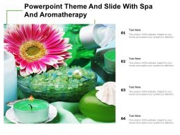 Powerpoint Theme And Slide With Spa And Aromatherapy