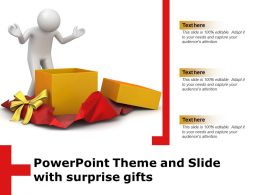 Powerpoint Theme And Slide With Surprise Gifts