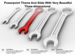 Powerpoint Theme And Slide With Very Beautiful Three Dimensional