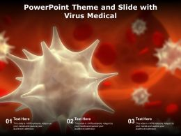 Powerpoint Theme And Slide With Virus Medical
