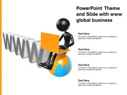 Powerpoint Theme And Slide With Www Global Business