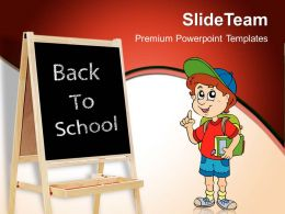 Powerpoint Training Templates Back To School Education Success Ppt Theme