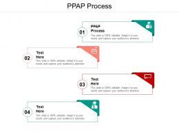 PPAP Process Ppt Powerpoint Presentation Portfolio Maker Cpb
