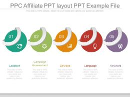 Ppc Affiliate Ppt Layout Ppt Example File