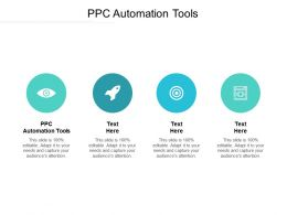 PPC Automation Tools Ppt Powerpoint Presentation Gallery Deck