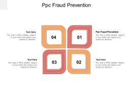 PPC Fraud Prevention Ppt Powerpoint Presentation Layouts Pictures Cpb