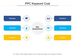 Ppc Keyword Cost Ppt Powerpoint Presentation Slides Styles Cpb