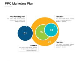 PPC Marketing Plan Ppt Powerpoint Presentation Gallery Graphic Tips Cpb