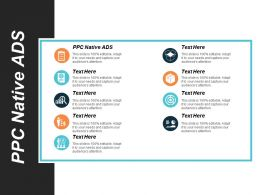 Ppc Native Ads Ppt Powerpoint Presentation Inspiration Guide Cpb