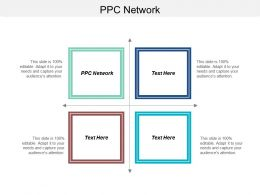 PPC Network Ppt Powerpoint Presentation Ideas Graphics Pictures Cpb
