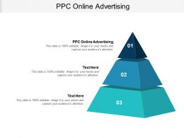 PPC Online Advertising Ppt Powerpoint Presentation Pictures Graphic Tips Cpb