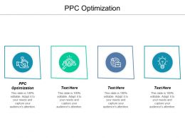 PPC Optimization Ppt Powerpoint Presentation Icon Files Cpb