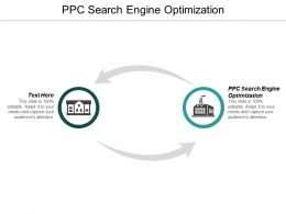 PPC Search Engine Optimization Ppt Powerpoint Presentation Infographic Template Visuals Cpb