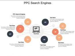 PPC Search Engines Ppt Powerpoint Presentation Model Design Templates Cpb