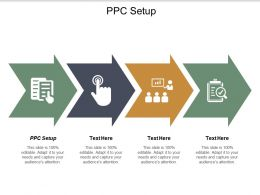 Ppc Setup Ppt Powerpoint Presentation Gallery Professional Cpb