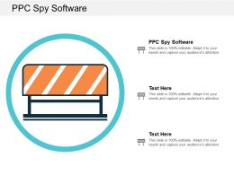 PPC Spy Software Ppt Powerpoint Presentation Gallery Show Cpb
