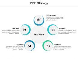 PPC Strategy Ppt Powerpoint Presentation Portfolio Background Designs Cpb