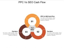 PPC Vs SEO Cash Flow Ppt Powerpoint Presentation Show Files Cpb