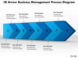 ppt_3d_arrow_business_management_process_diagram_powerpoint_templates_8_stages_Slide01