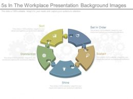 Ppt 5s In The Workplace Presentation Background Images