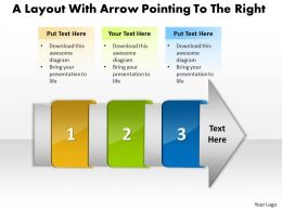 ppt_a_layout_with_arrow_pointing_to_the_right_business_powerpoint_templates_3_stages_Slide01
