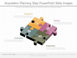 Ppt Acquisition Planning Step Powerpoint Slide Images