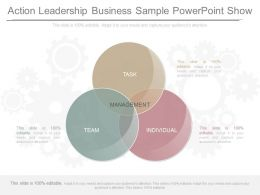 Ppt Action Leadership Business Sample Powerpoint Show
