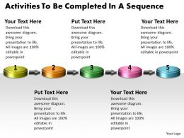 ppt_activities_to_be_completed_in_sequence_business_powerpoint_templates_5_stages_Slide01