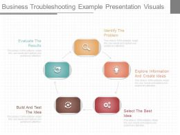 Ppt Business Troubleshooting Example Presentation Visuals