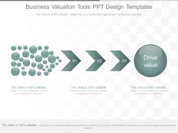 Ppt Business Valuation Tools Ppt Design Templates