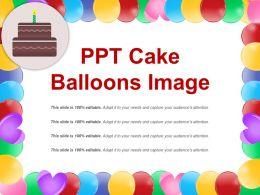 Ppt Cake Balloons Image