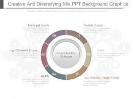 Ppt Creative And Diversifying Mix Ppt Background Graphics