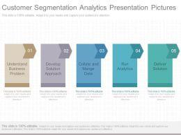 Ppt Customer Segmentation Analytics Presentation Pictures