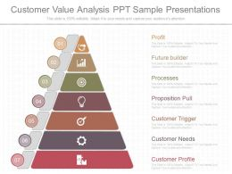 Ppt Customer Value Analysis Ppt Sample Presentations