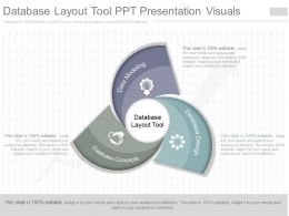 Ppt Database Layout Tool Ppt Presentation Visuals