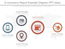 Ppt E Commerce Report Example Diagram Ppt Ideas