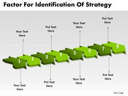 PPT factors for identification of strategy Business PowerPoint Templates 8 stages