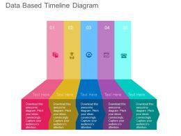 ppt_five_staged_data_based_timeline_diagram_flat_powerpoint_design_Slide01