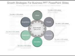 Ppt Growth Strategies For Business Ppt Powerpoint Slides