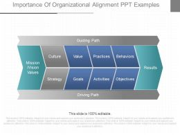 Ppt Importance Of Organizational Alignment Ppt Examples