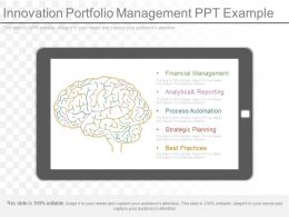 Ppt Innovation Portfolio Management Ppt Example