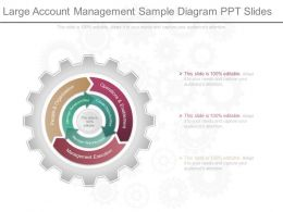 Ppt Large Account Management Sample Diagram Ppt Slides