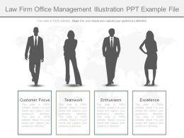 Ppt Law Firm Office Management Illustration Ppt Example File